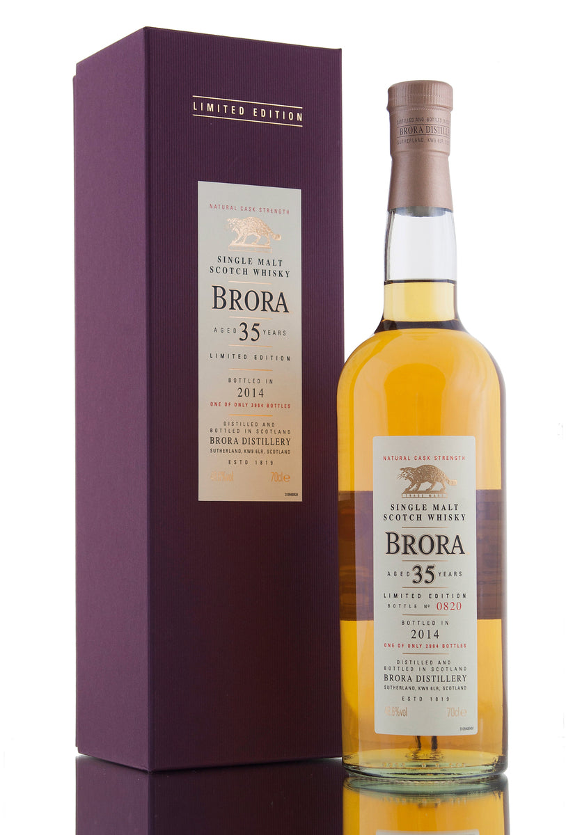 Brora 35 Year Old / 2014 Release