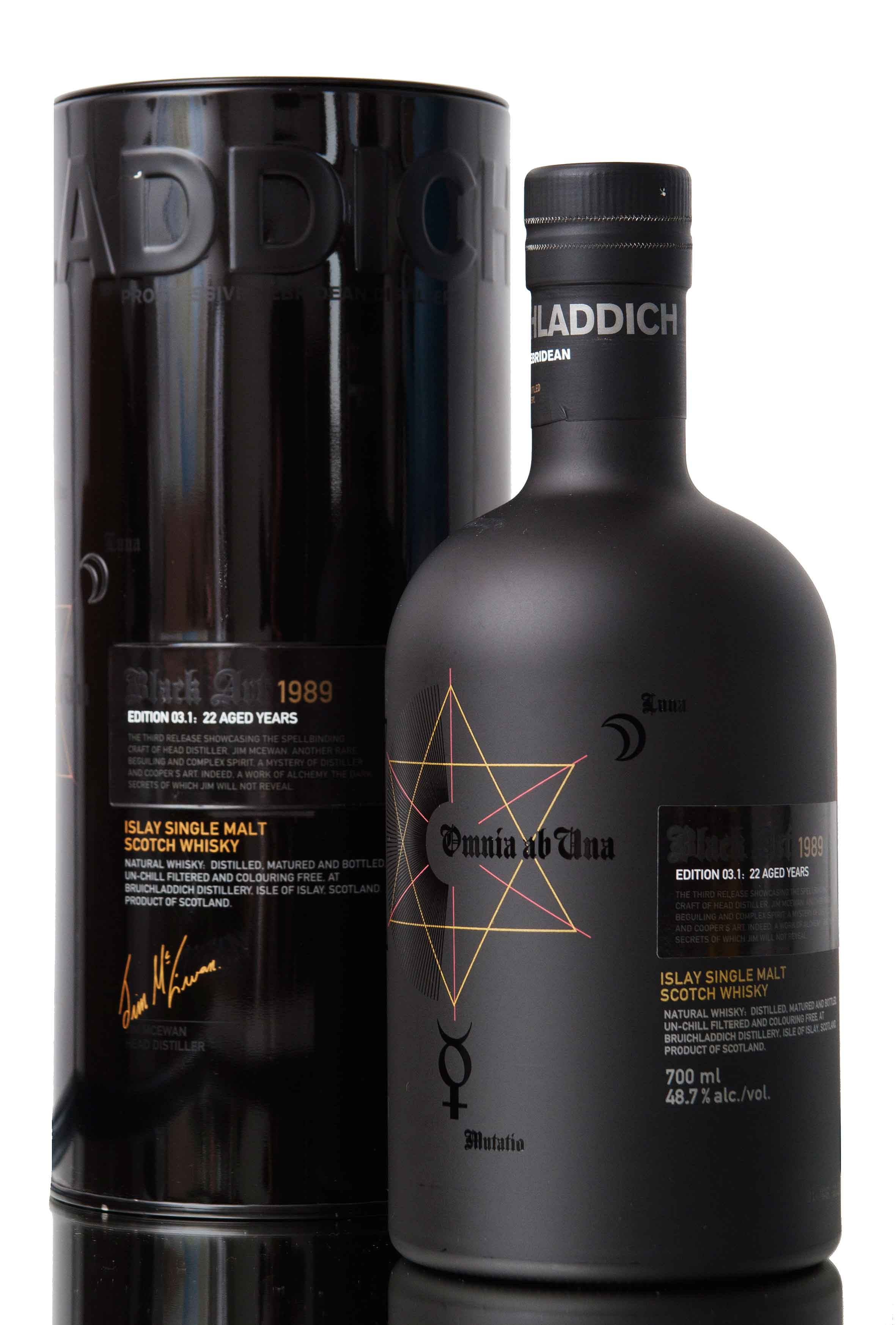 Bruichladdich Black Art 4 / 23 Year Old