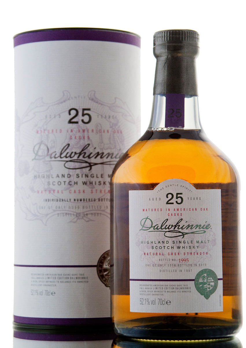 Dalwhinnie 25 Year Old / 2012 Release