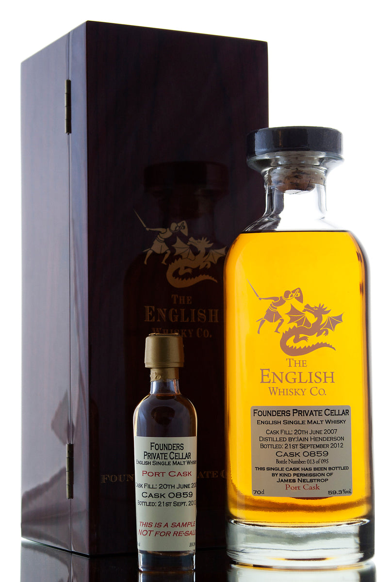 English Whisky Co / Founders Private Cellar / Cask 0859