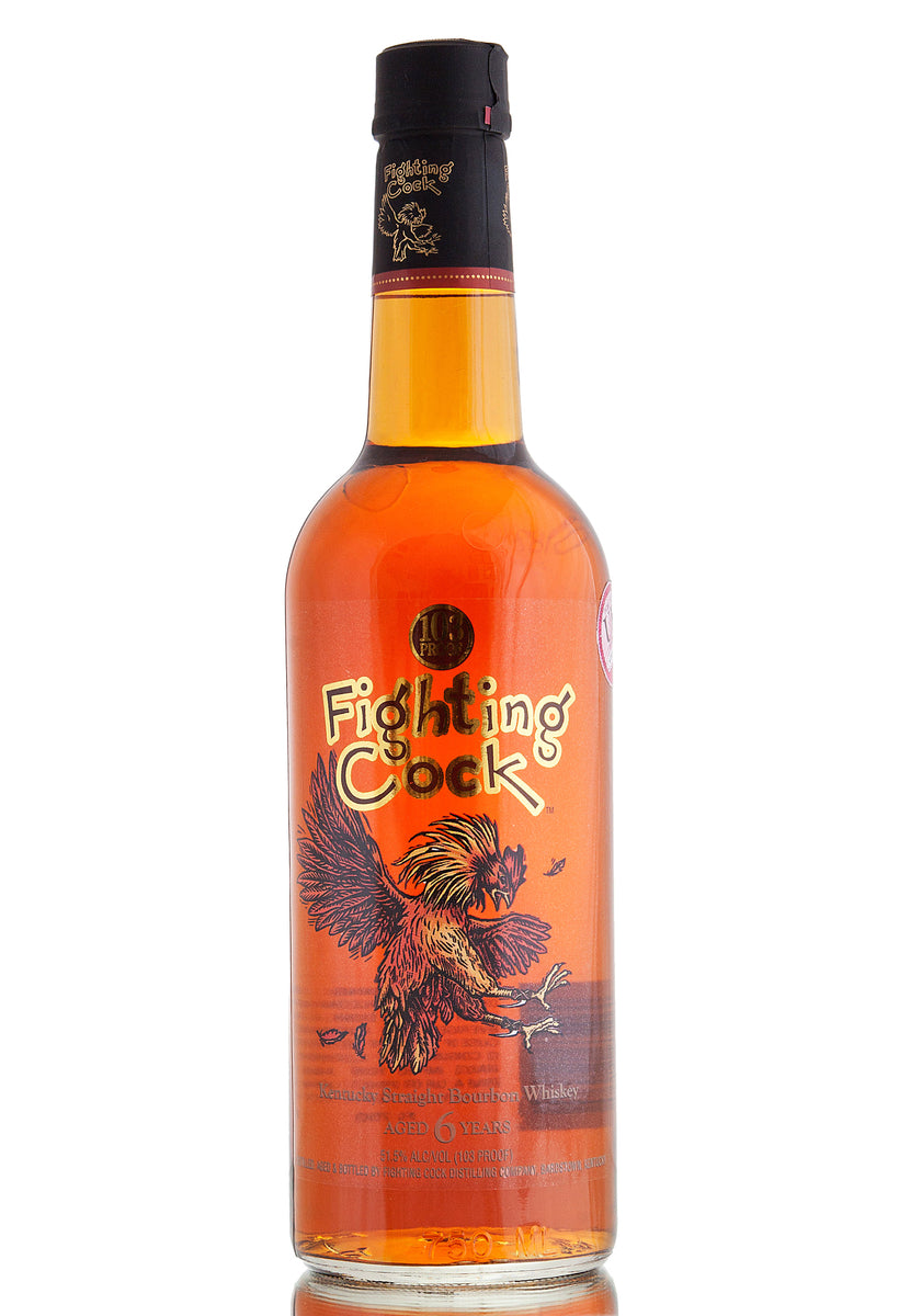 Fighting Cock Bourbon / 6 Year Old Whiskey