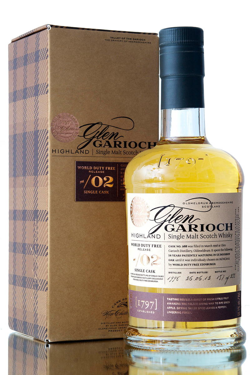 Glen Garioch 1998 / Single Cask 988
