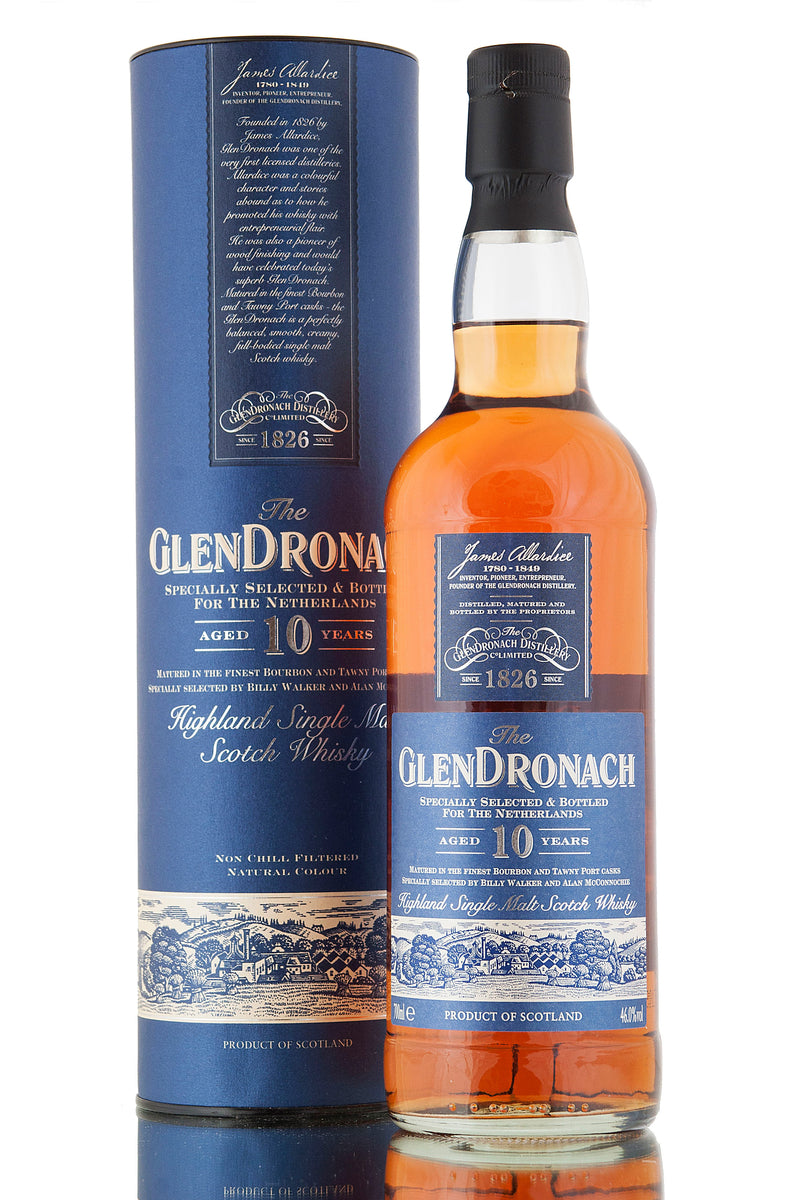 Glendronach 10 Year Old / Netherlands Bottling