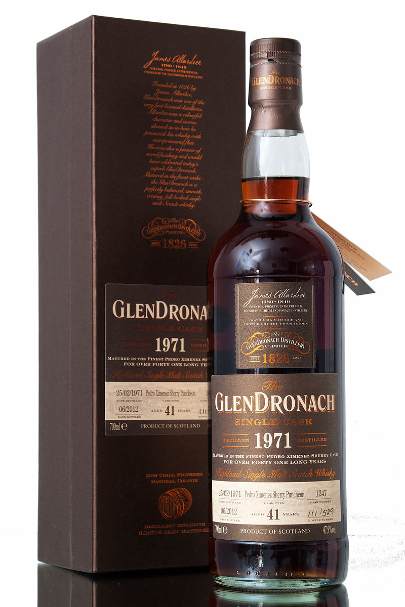 Glendronach 1971 / 41 Year Old / Cask 1247