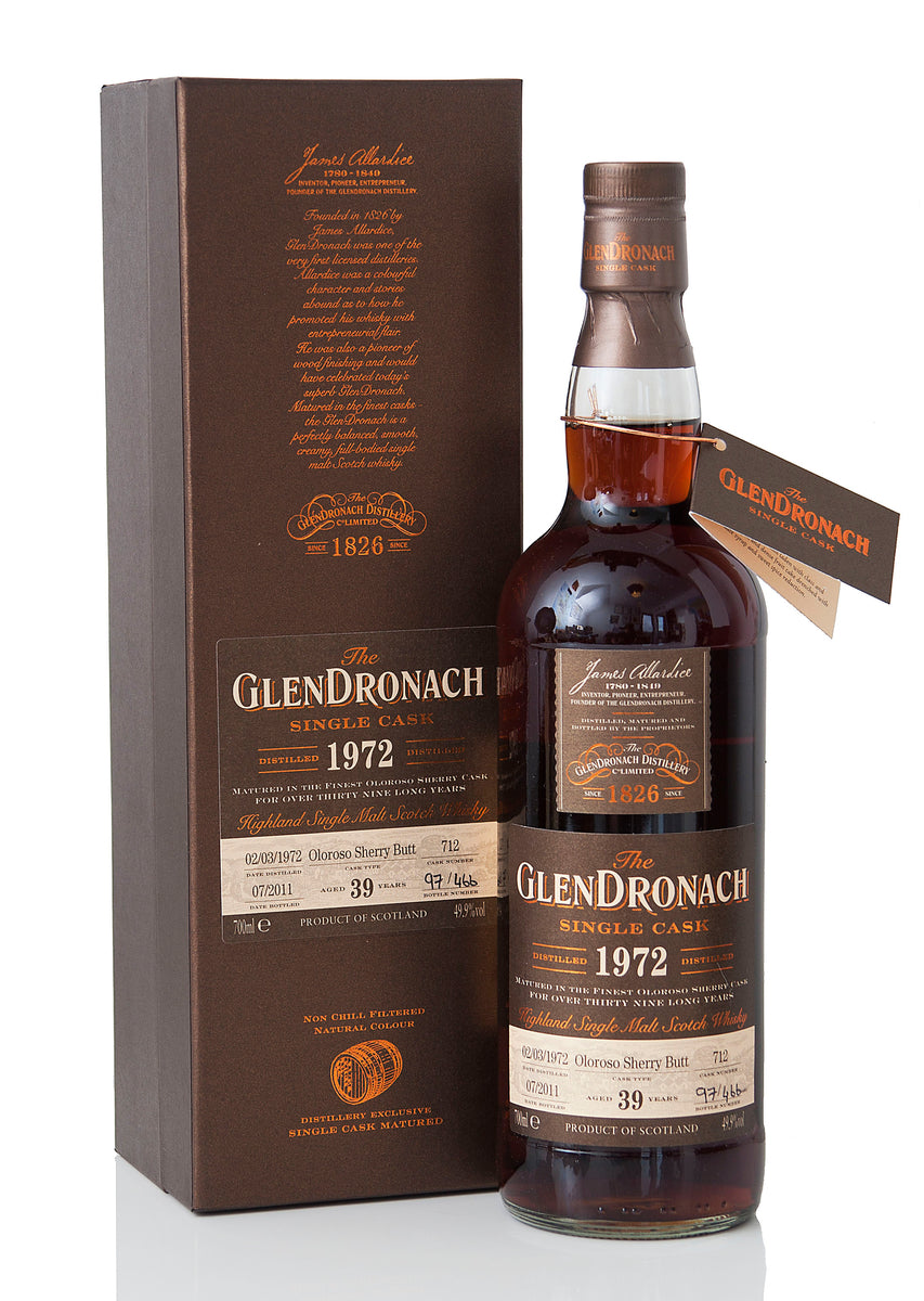 Glendronach 1972 / 39 Year Old / Cask 712