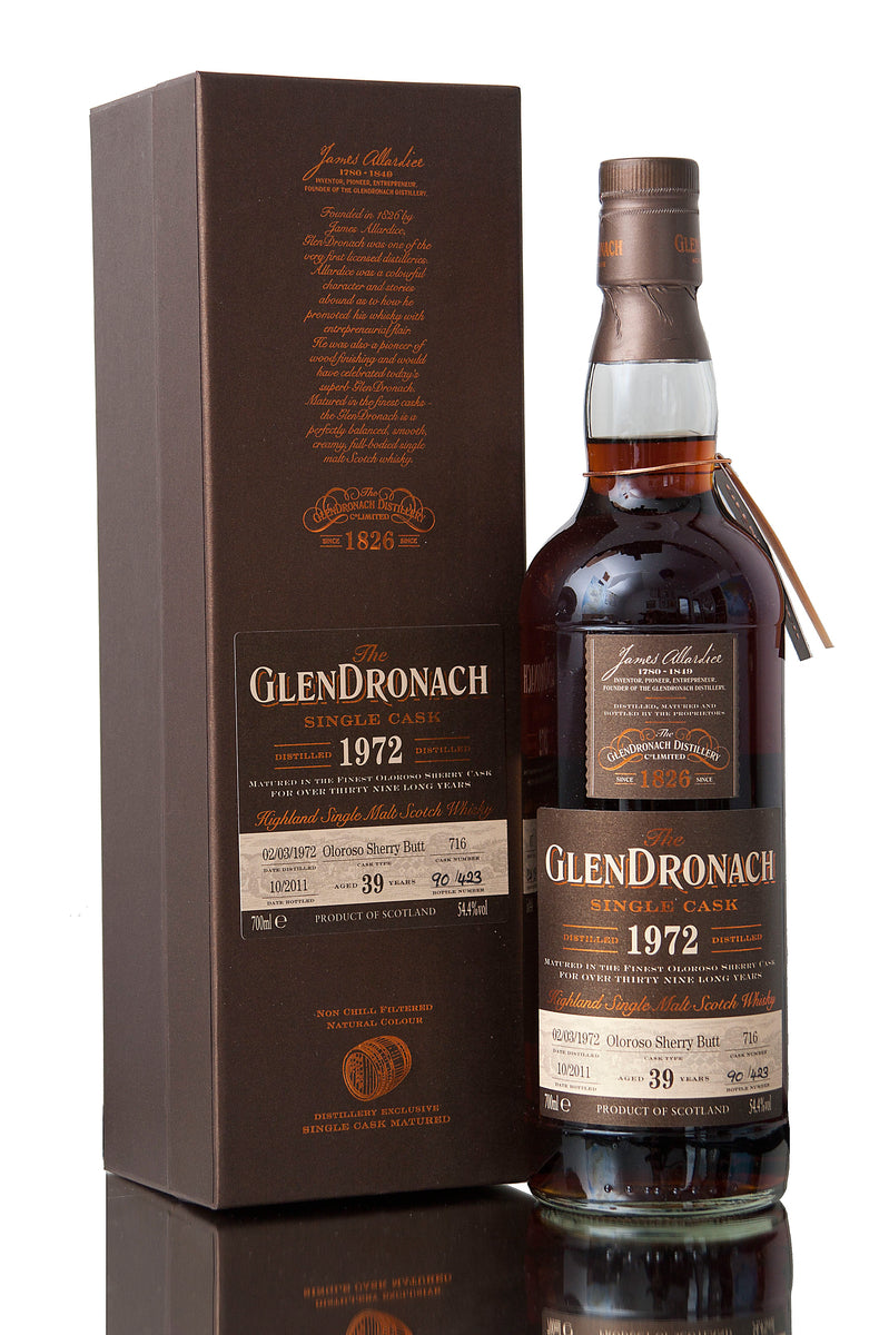 Glendronach 1972 / 39 Year Old / Cask 716