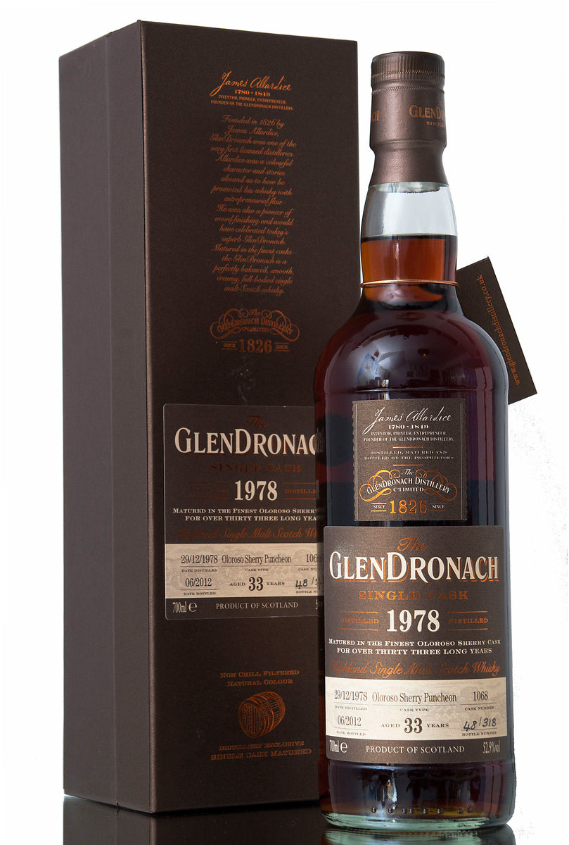 Glendronach 1978 / 33 Year Old / Cask 1068