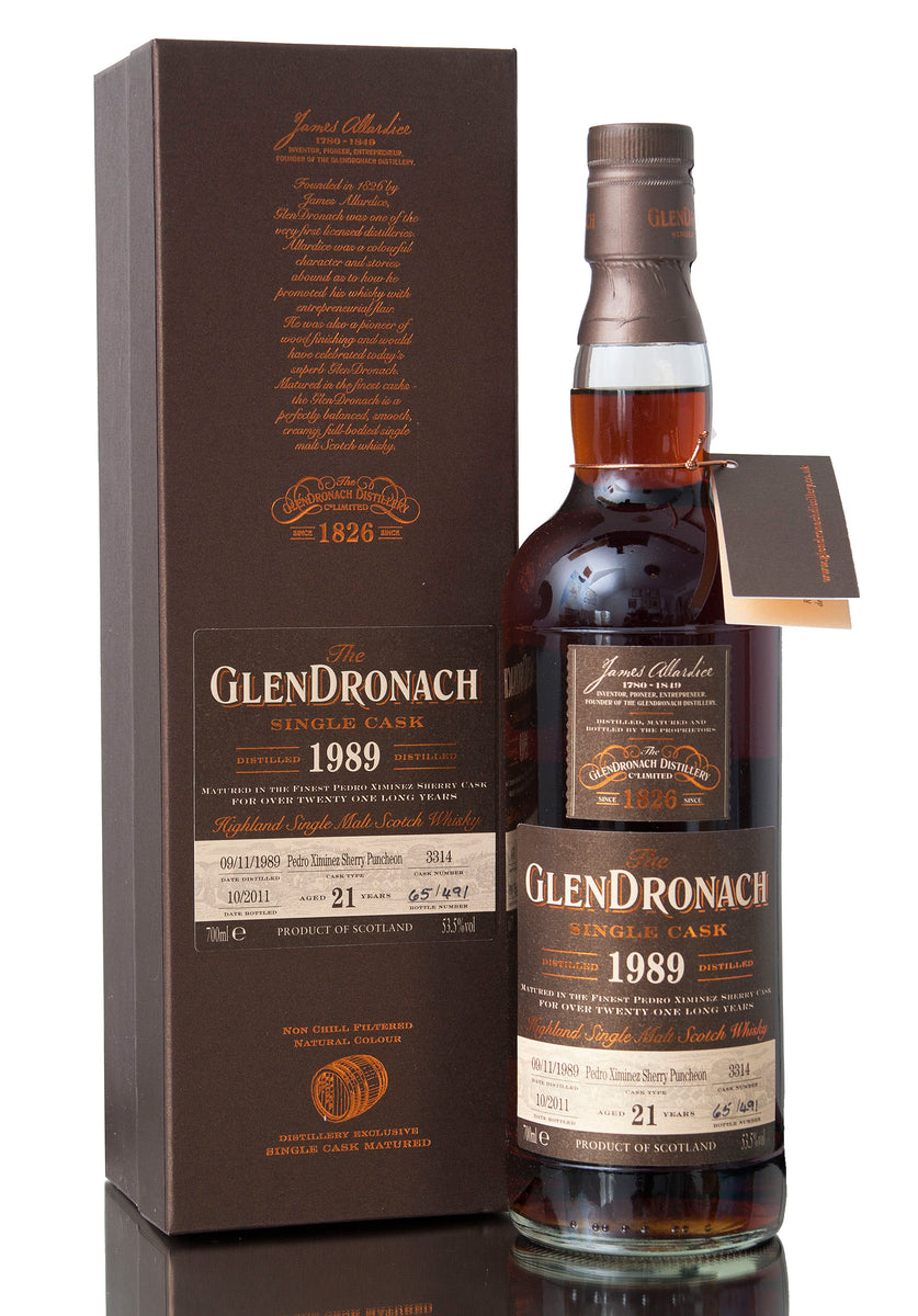 Glendronach 1989 / 21 Year Old / Cask 3314