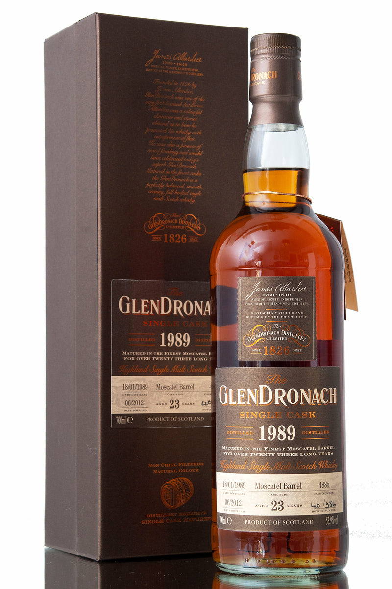 Glendronach 1989 / 23 Year Old / Cask 4885