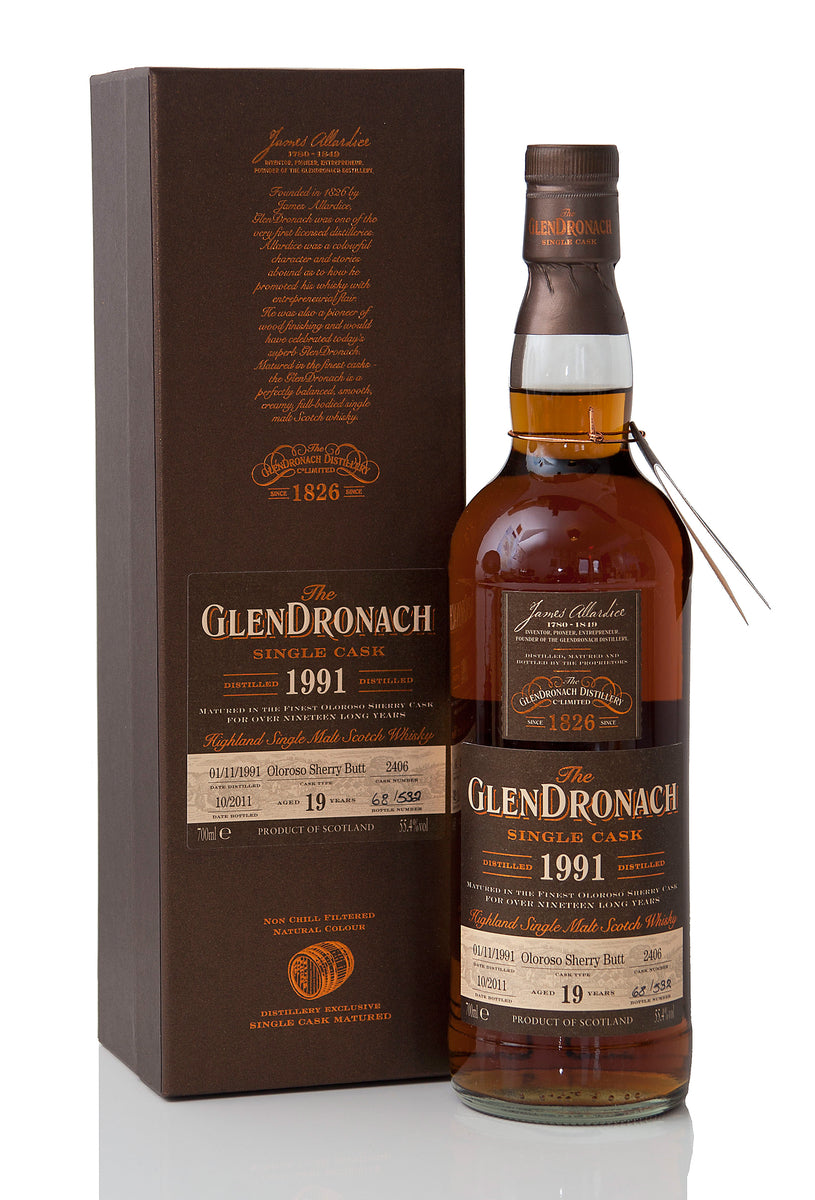 Glendronach 1991 / 19 Year Old / Cask 2406