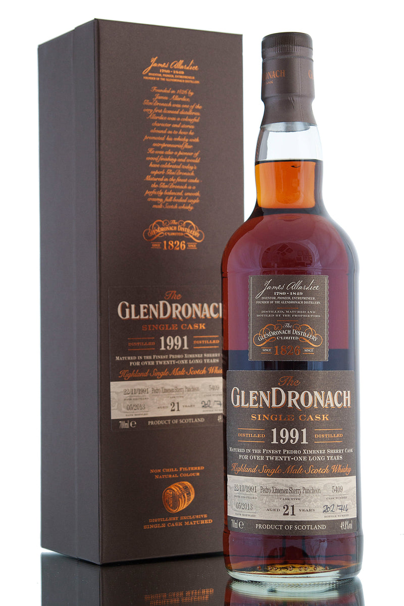 Glendronach 1991 / 21 Year Old / Cask 5409 / Batch 8