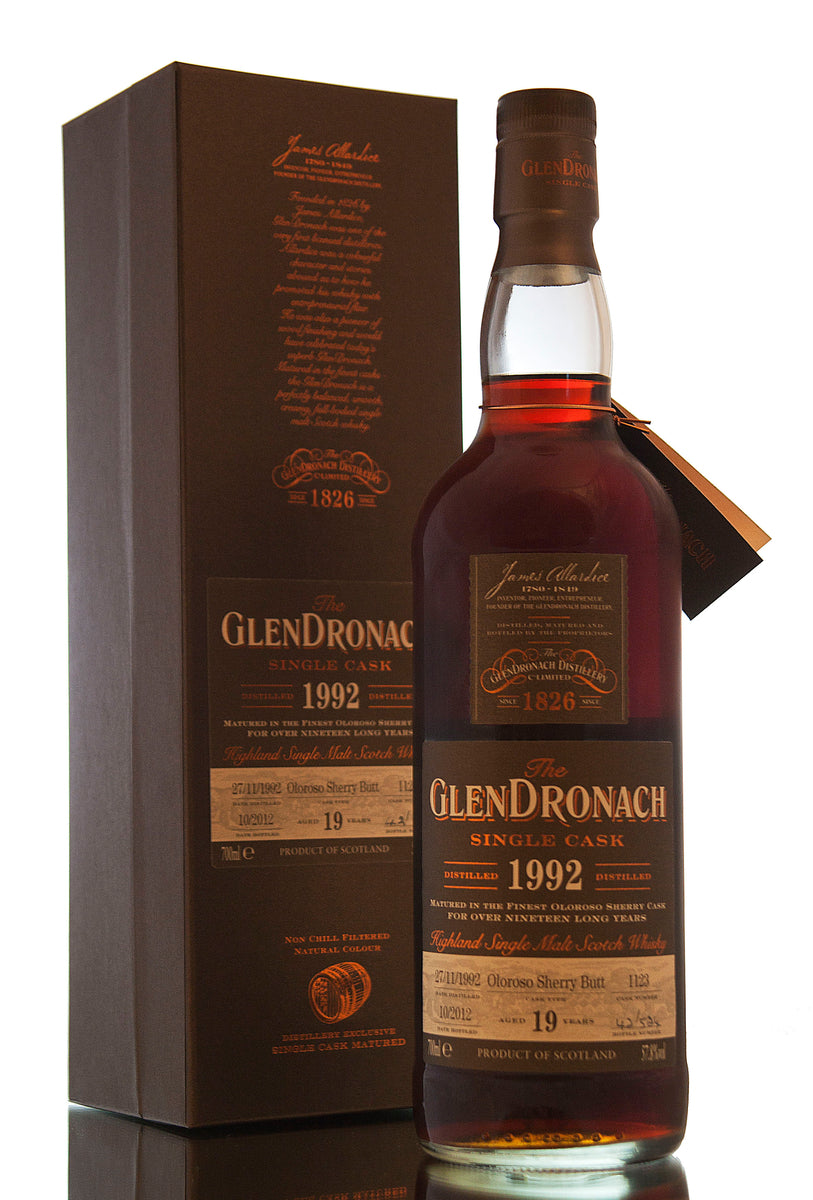 Glendronach 1992 / 19 Year Old / Cask 1123