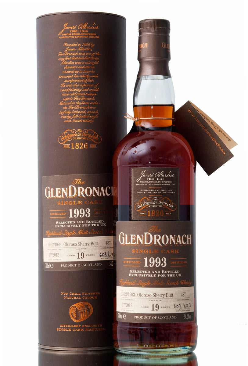 Glendronach 1993 / 19 Year Old / Cask 487