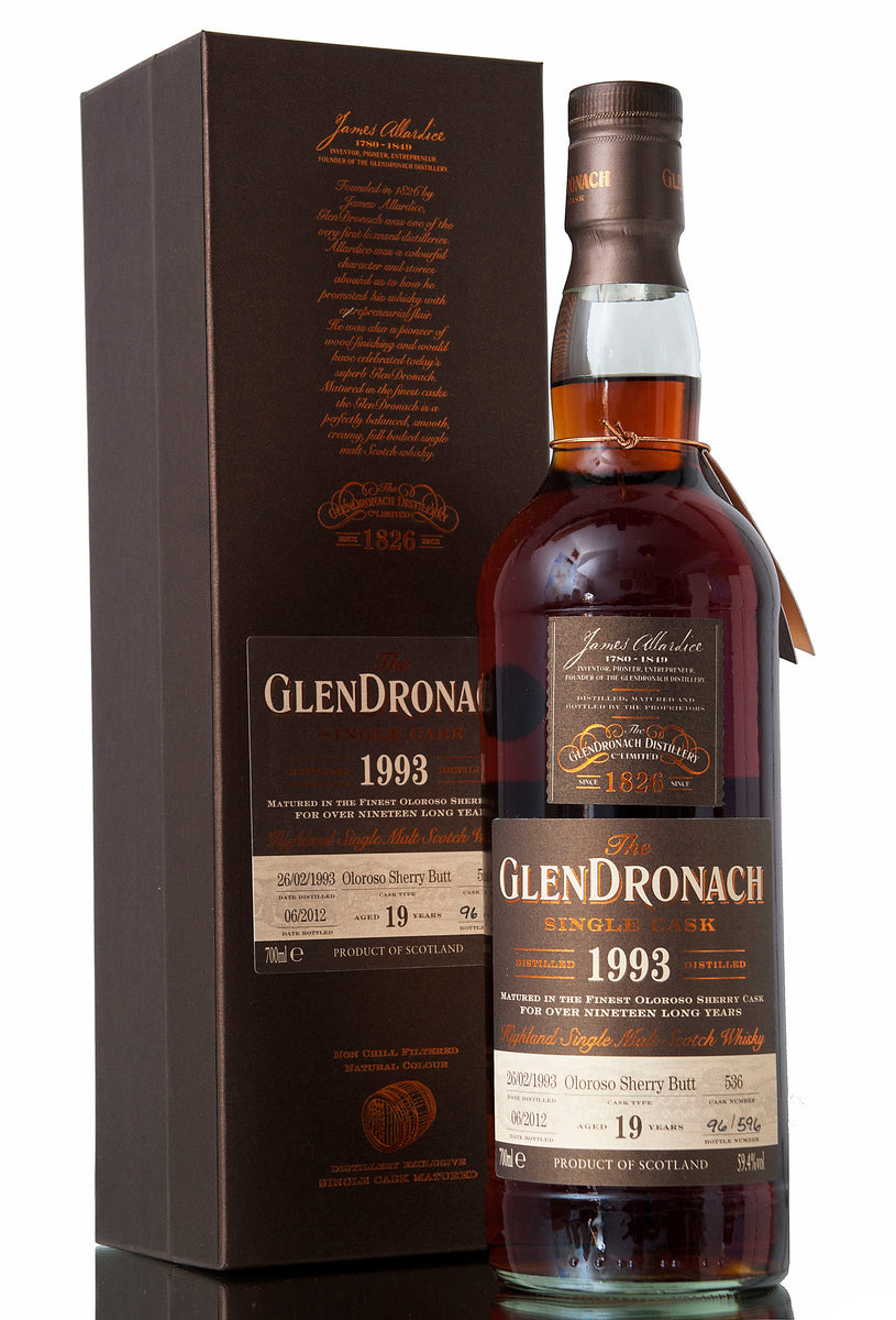 Glendronach 19 Year Old - 1993 | Cask 536 Batch 6