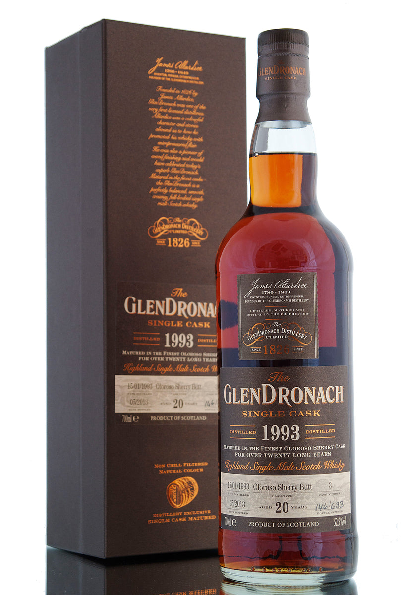 Glendronach 1993 / 20 Year Old / Cask 3 / Batch 8