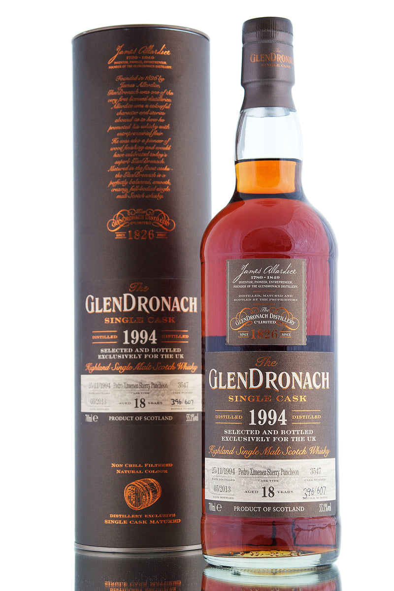 Glendronach 1994 / 18 Year Old / Cask 3547