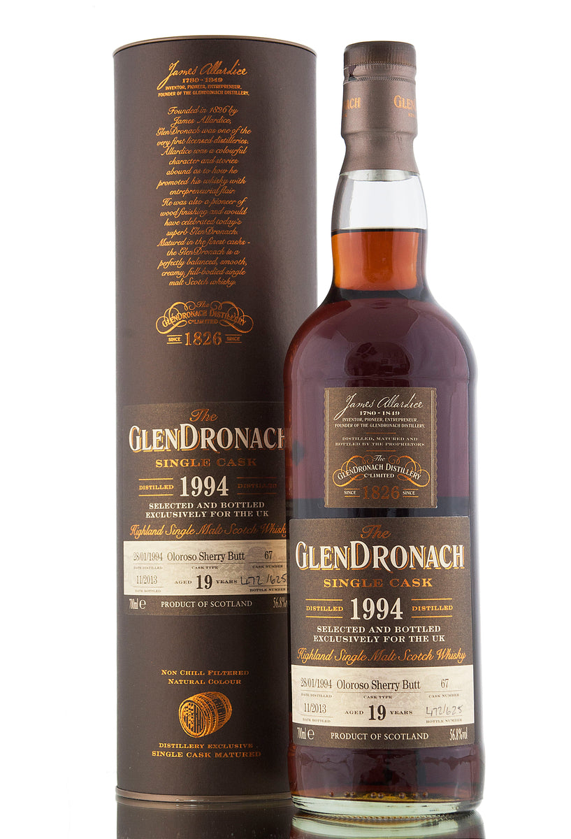 Glendronach 1994 / 19 Year Old / Cask 67 / UK Exclusive