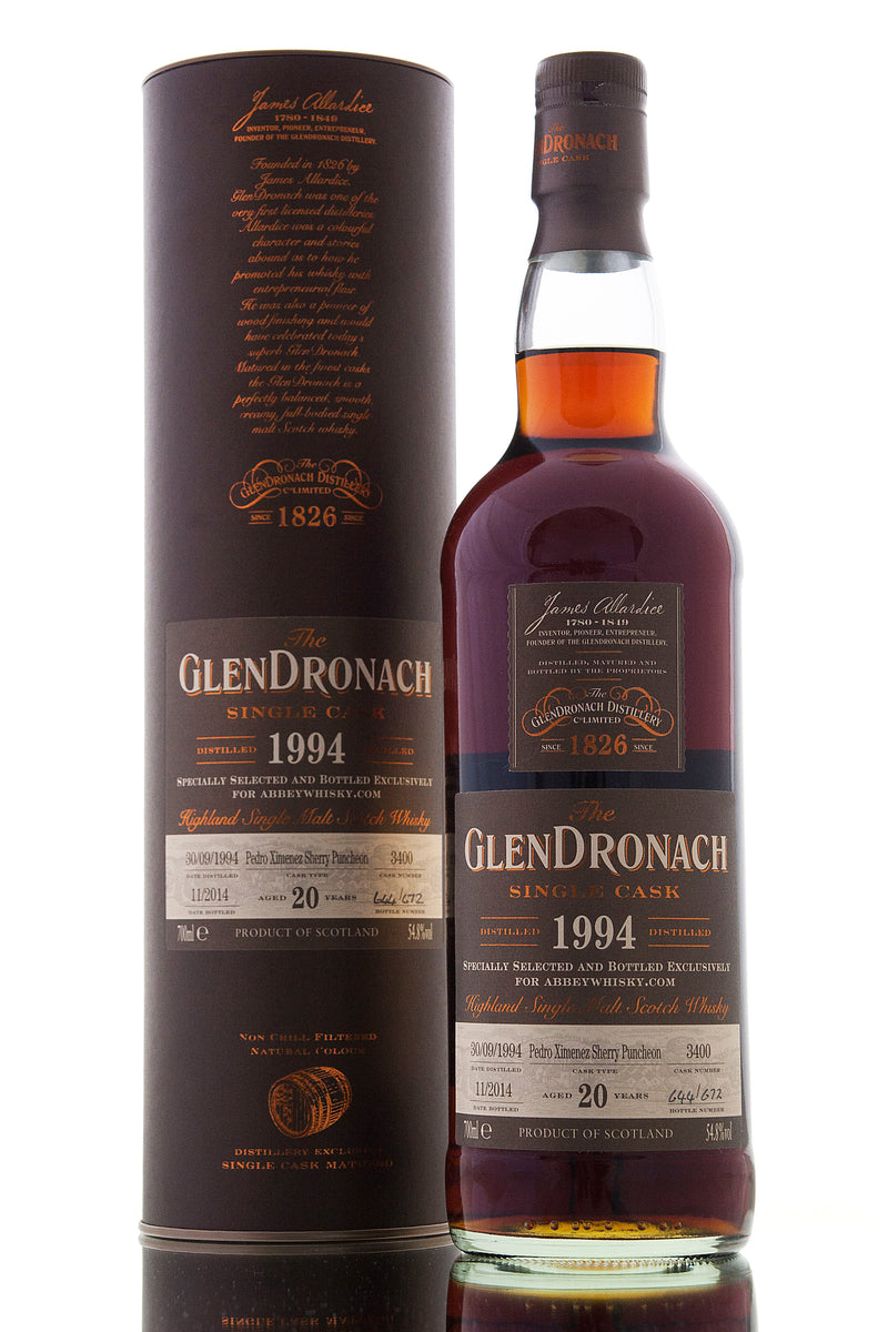 Glendronach 1994 / Single Cask #3400 / AW Exclusive