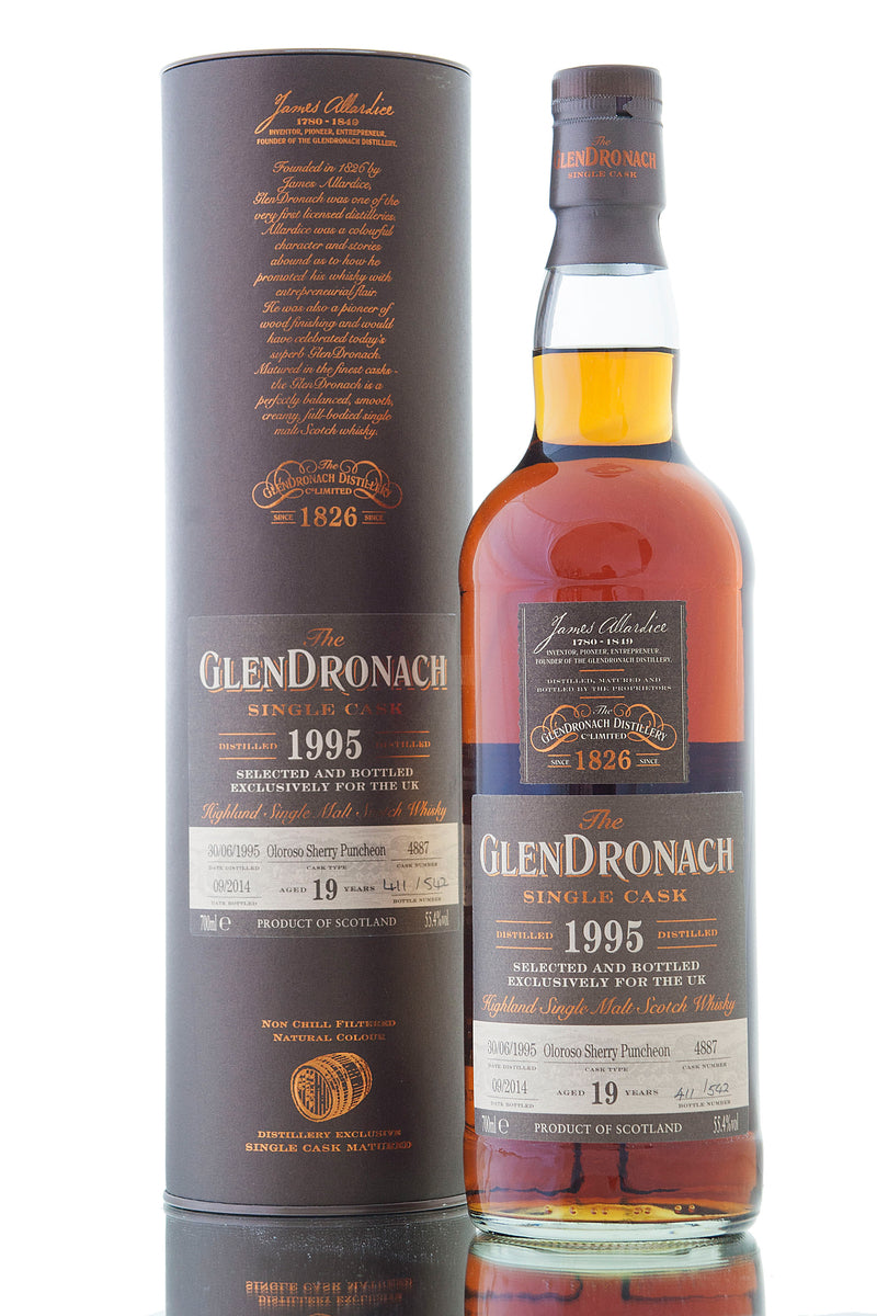 Glendronach 1995 / 19 Year Old / Cask 4887 / UK Exclusive