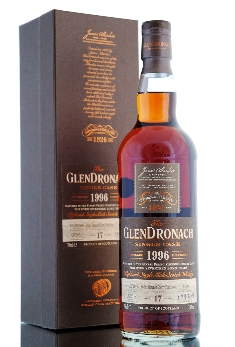 Glendronach 1996 / 17 Year Old / Cask 1490 / Batch 8