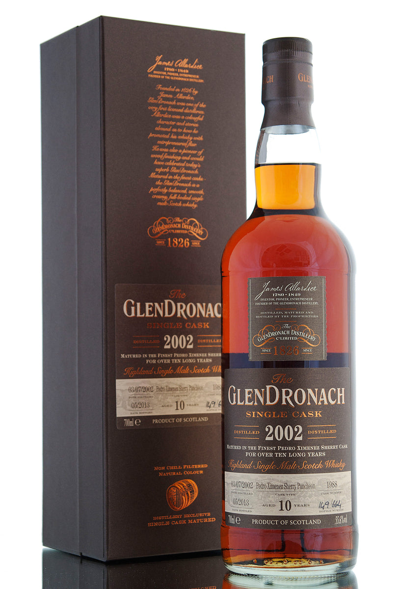 Glendronach 2002 / 10 Year Old / Cask 1988 / Batch 8