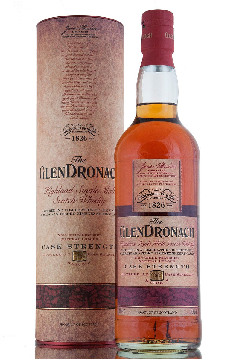 Glendronach Cask Strength / Batch 3
