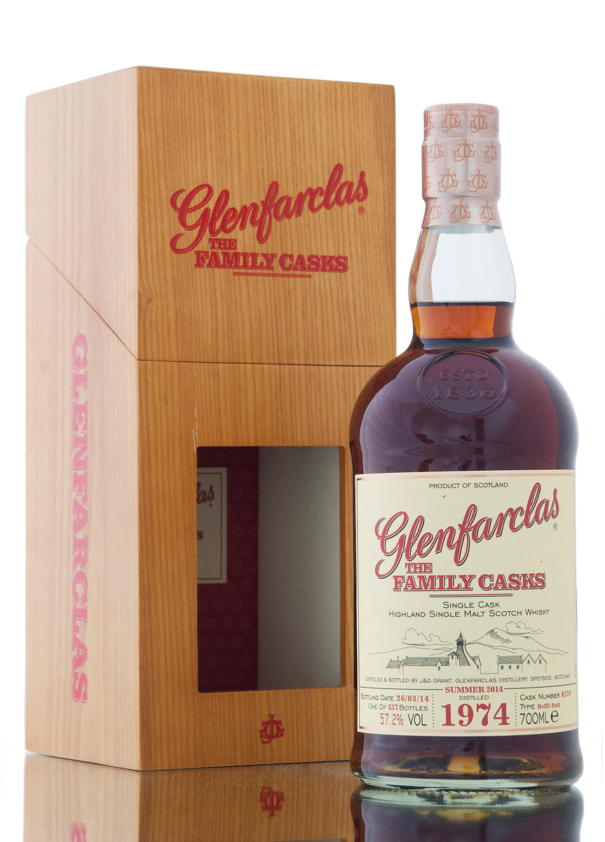 Glenfarclas 1974 / Family Casks Summer 2014 / Cask #8579