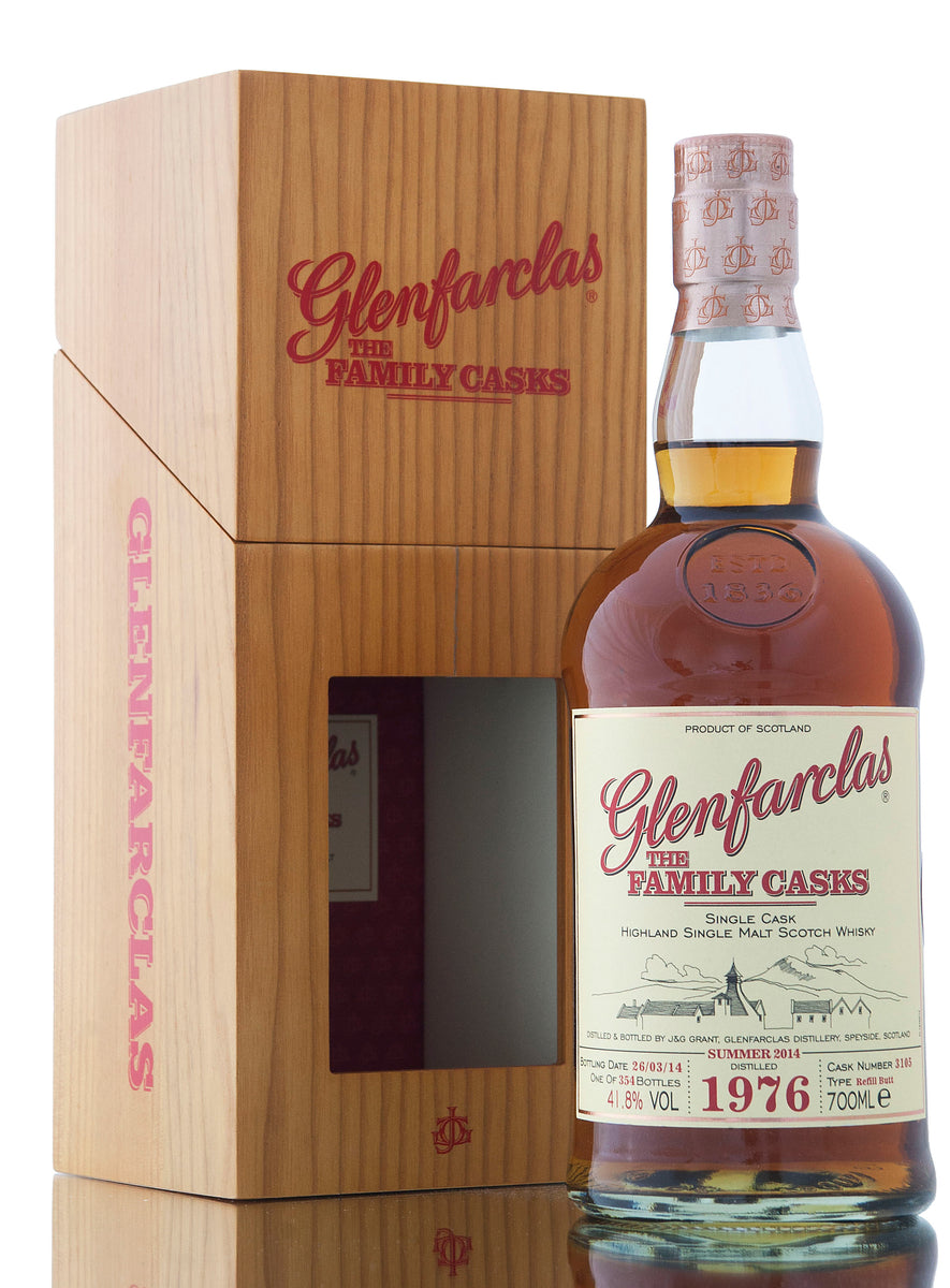 Glenfarclas 1976 / Family Casks Summer 2014 / Cask #3105
