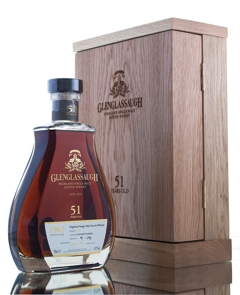 Glenglassaugh 51 Year Old - 1963 / Single Cask #3301