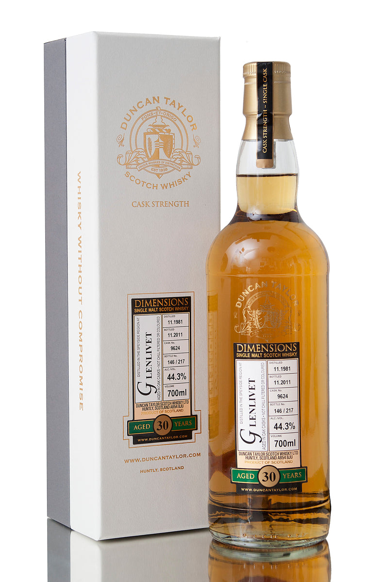 Glenlivet 30 Year Old / Dimensions / 1981