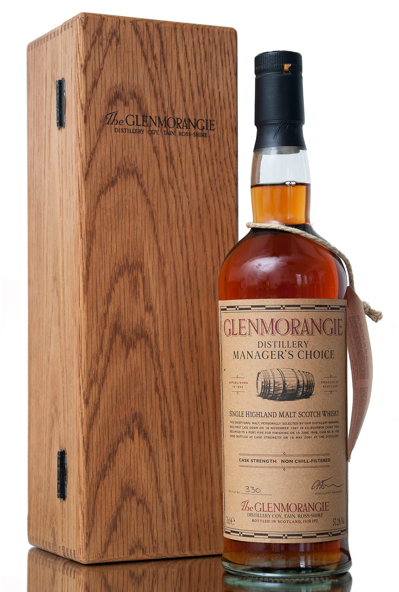 Glenmorangie Managers Choice, 1987 / 2001