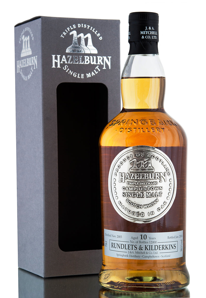 Hazelburn Rundlets & Kilderkins / 10 Year Old
