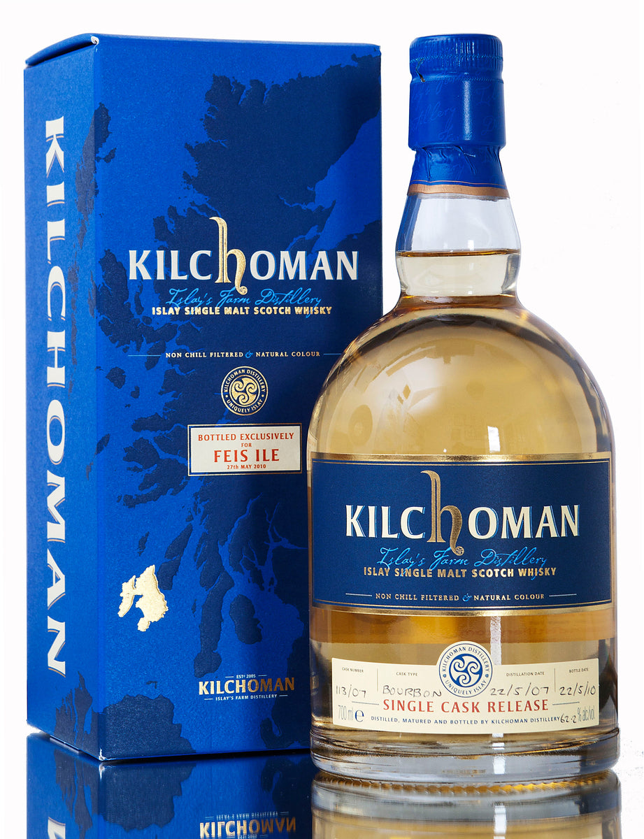 Kilchoman Single Cask 113/07, Feis Ile 2010