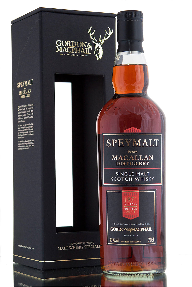 Macallan 1971 Speymalt / First Fill Sherry