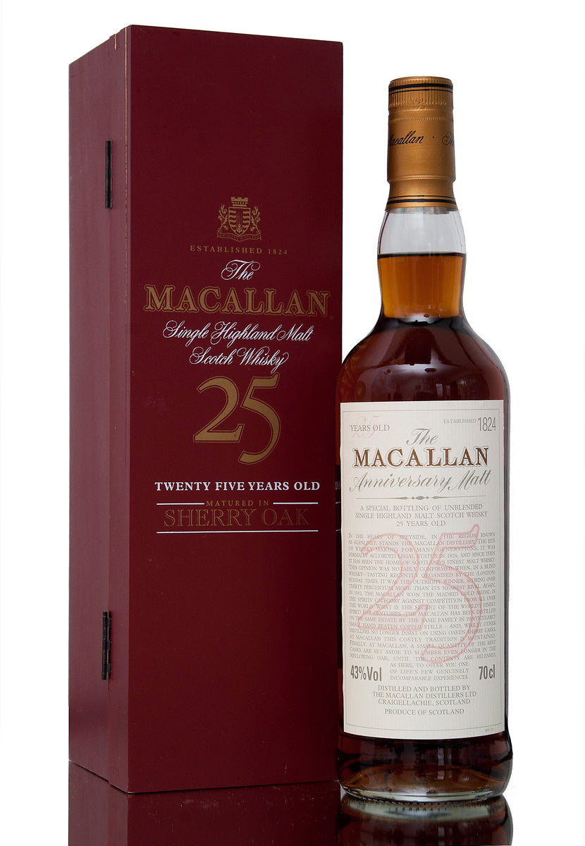 Macallan 25 Year Old, Sherry Oak