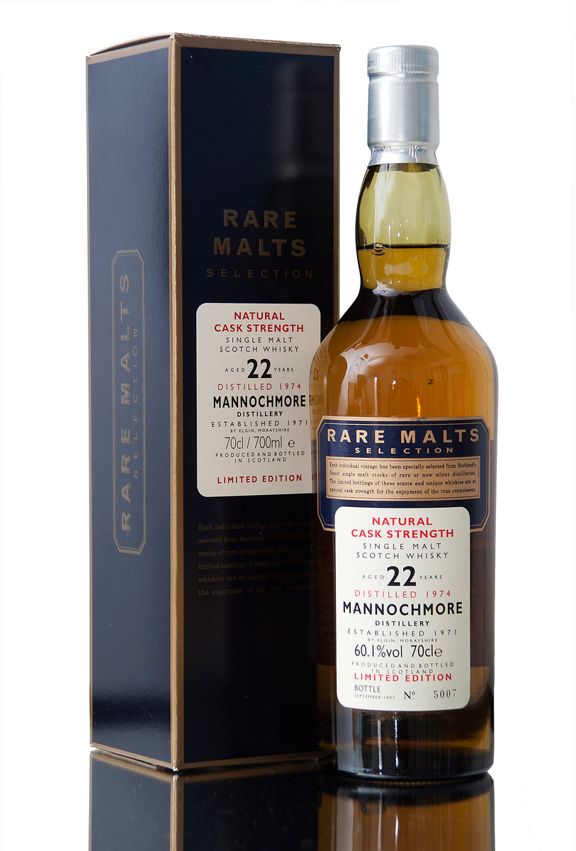 Mannochmore 1974, 22 Year Old, Rare Malts