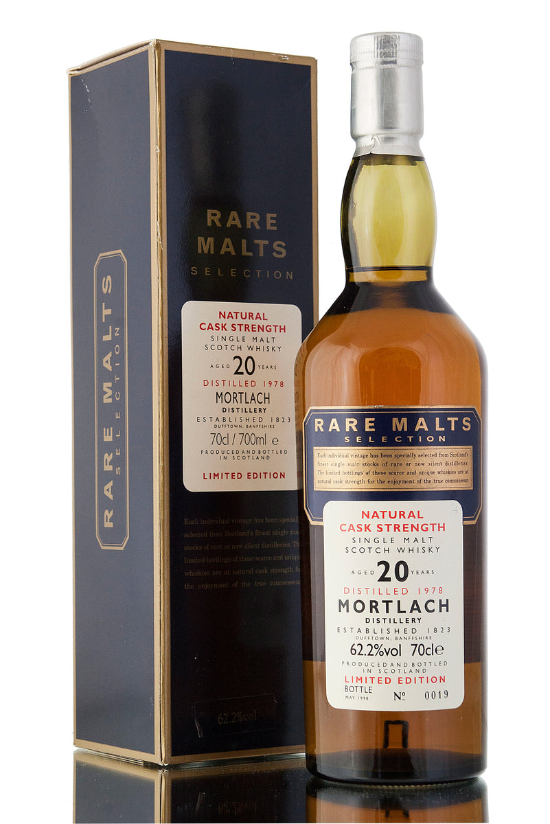 Mortlach 1978 / 20 Year Old / The Rare Malt Selection
