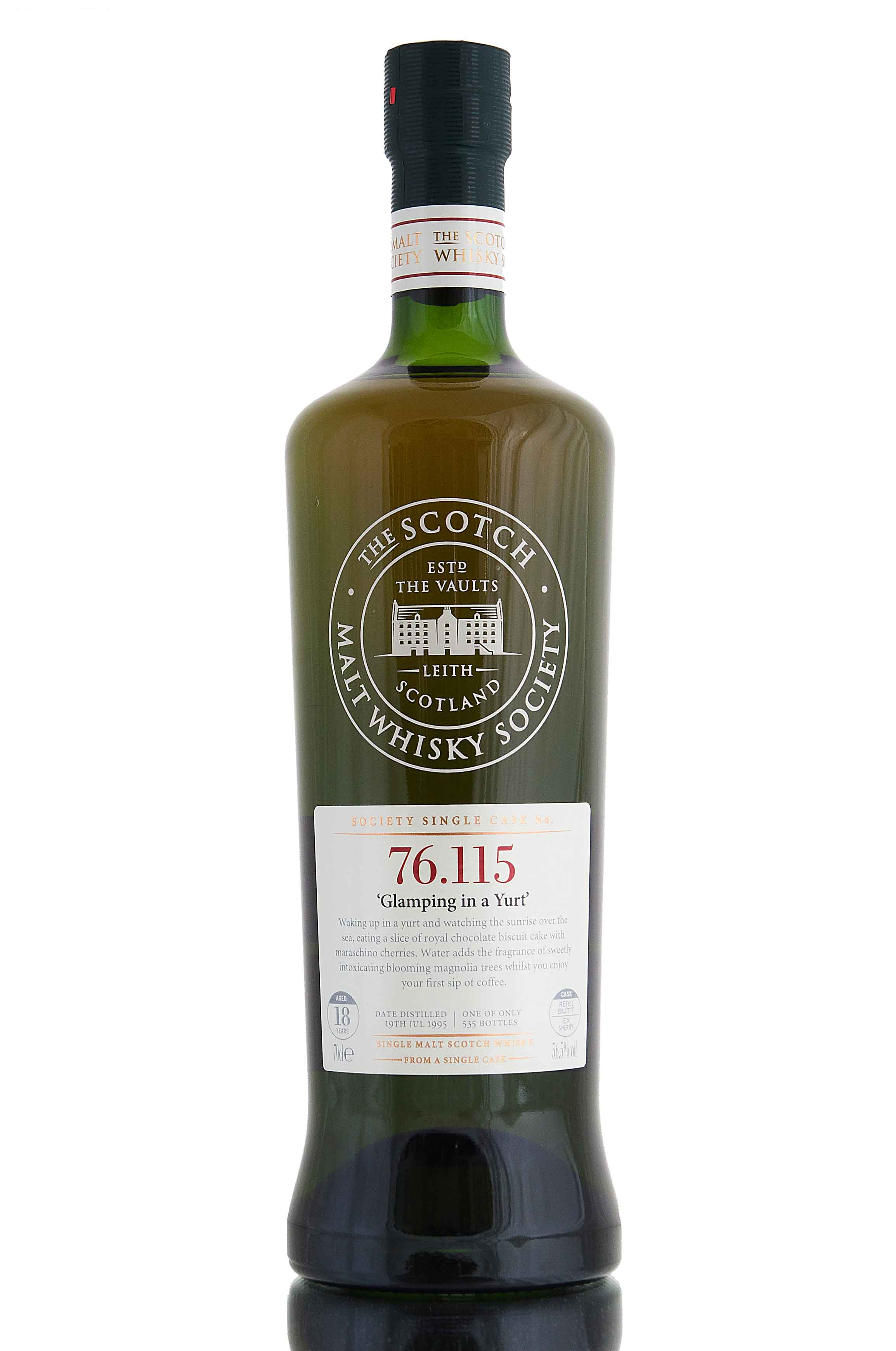 Mortlach 1995 / 18 Year Old / SMWS 76.115