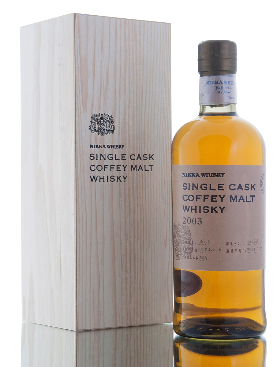 Nikka Single Cask Coffey Malt 2003 / Cask #130541