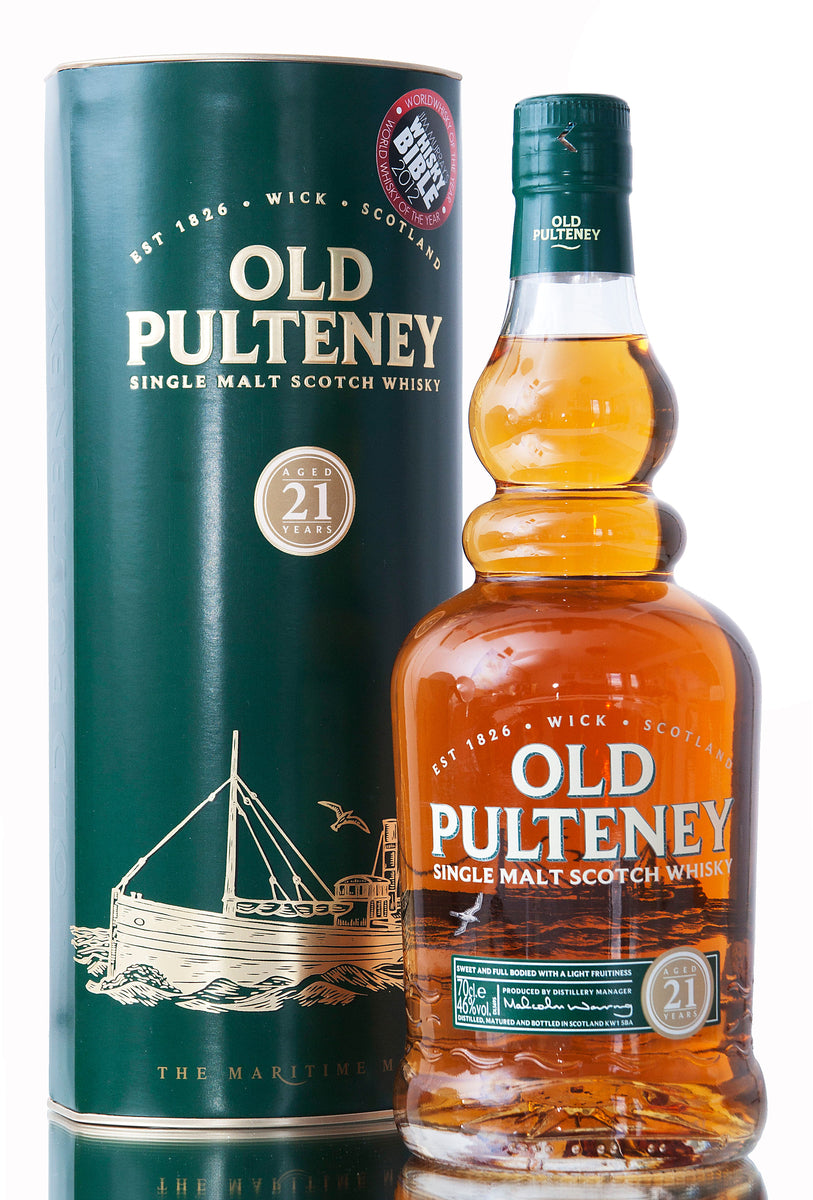 Old Pulteney 21 Year Old / Highland Whisky