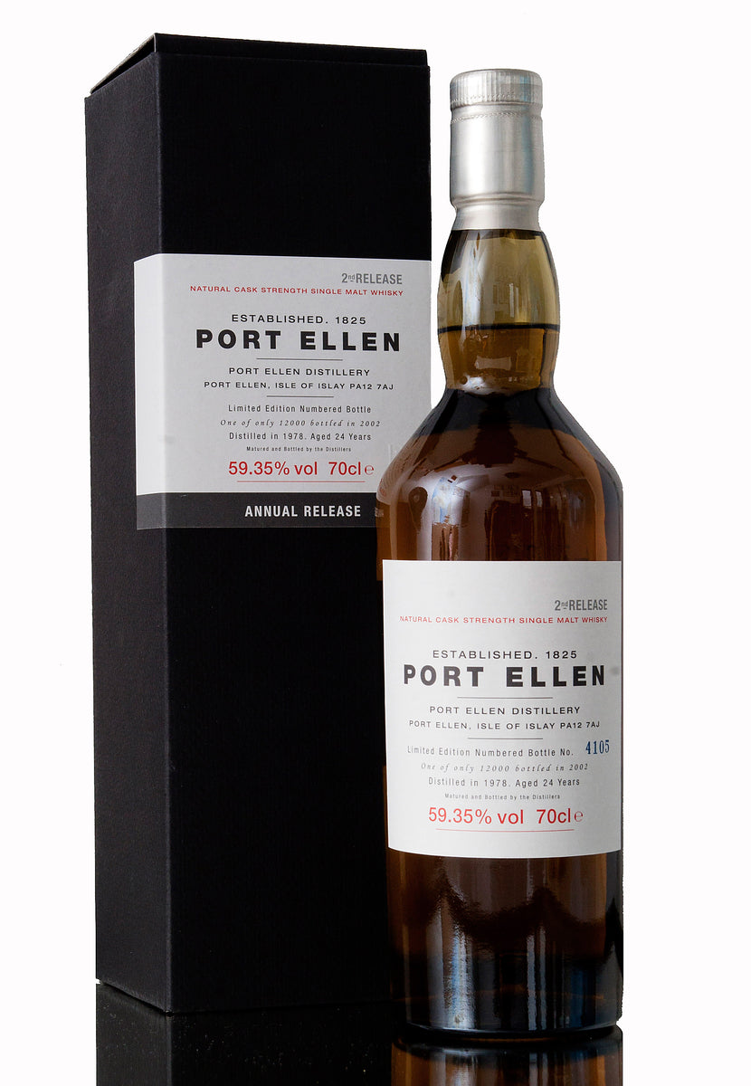 Port Ellen 24 Year Old, 1978, 2nd Release