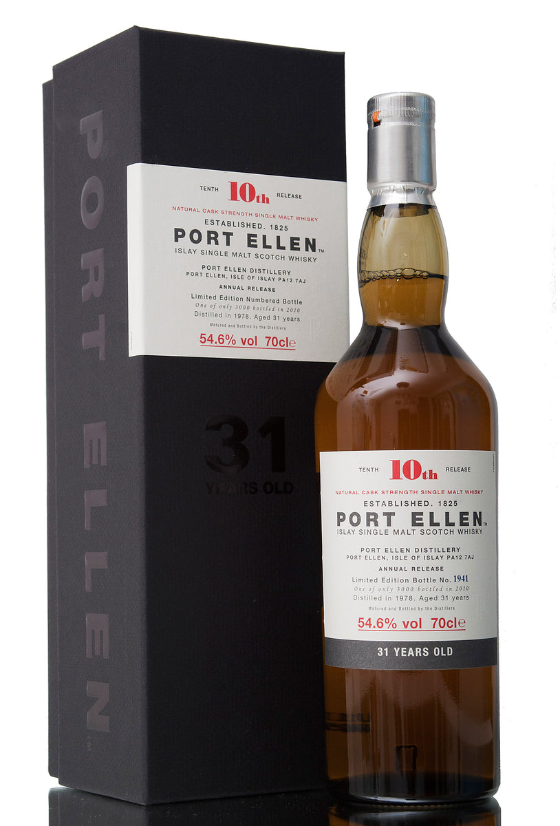 Port Ellen 31 Year Old, 1978, 10th Release