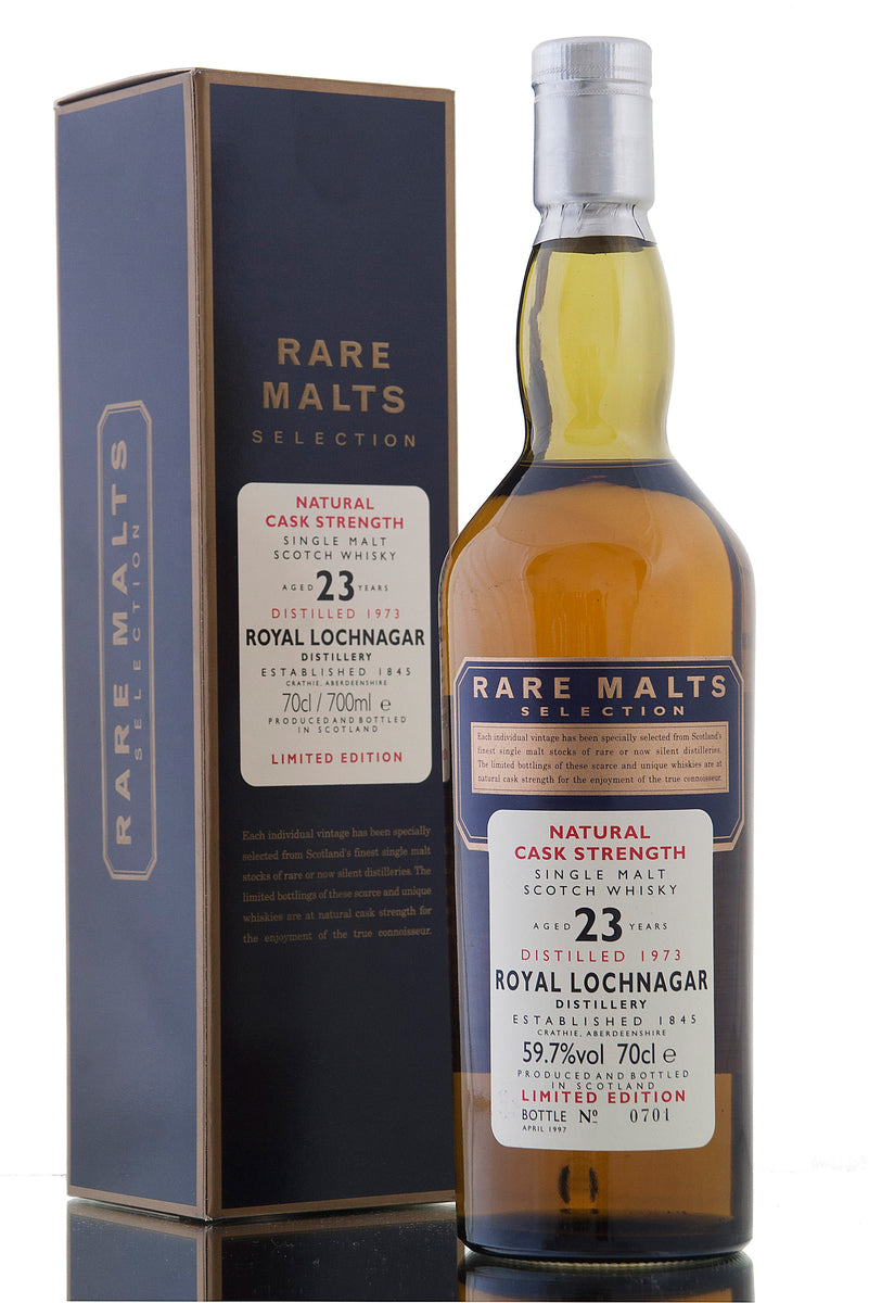 Royal Lochnagar 1973, 23 Year Old, Rare Malts