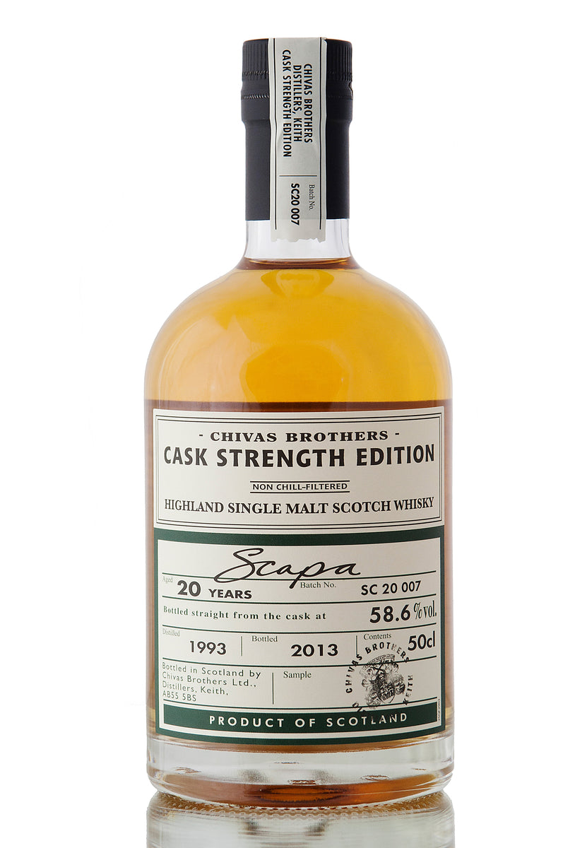 Scapa 20 Year Old / 1993 / Cask Strength Edition