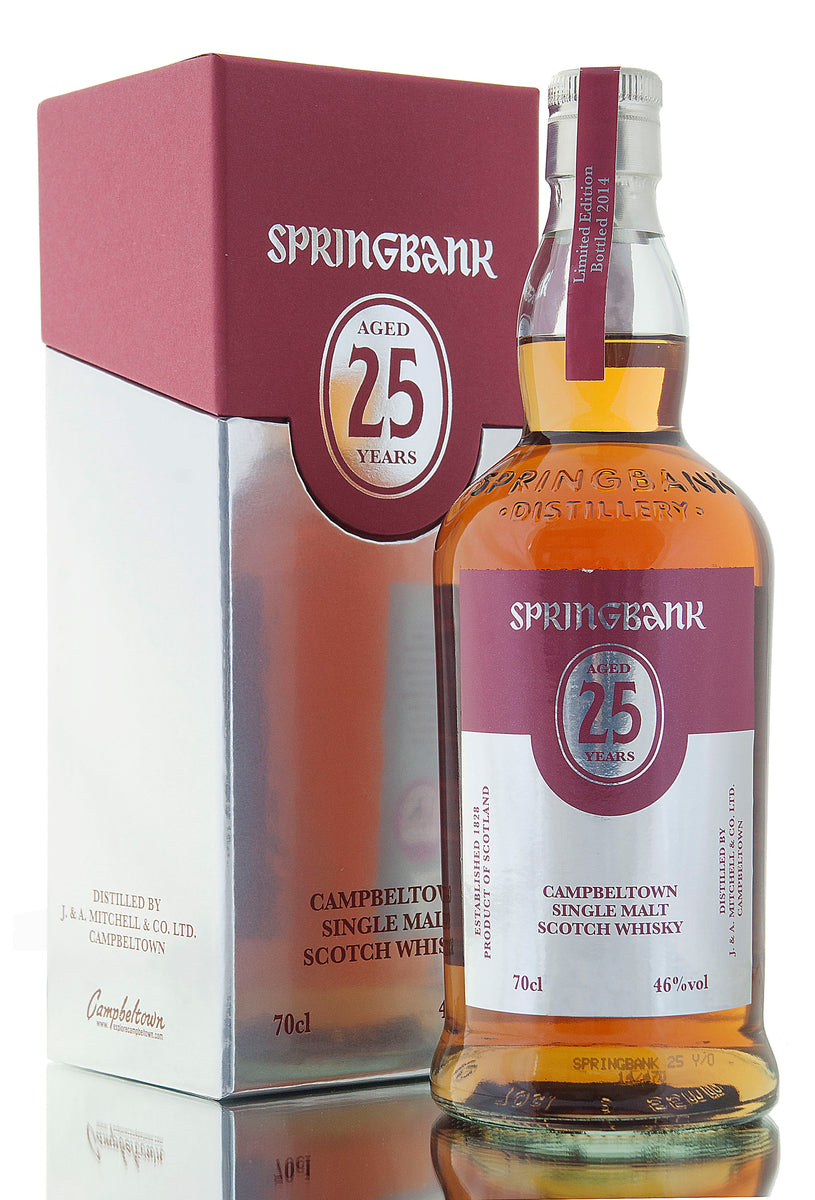 Springbank 25 Year Old / 2014 Release