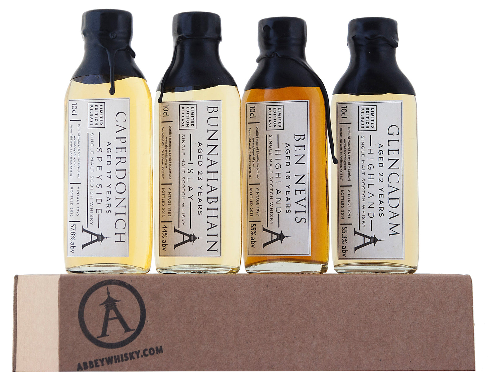 The Rare Casks Whisky Gift Set (Abbey Whisky)
