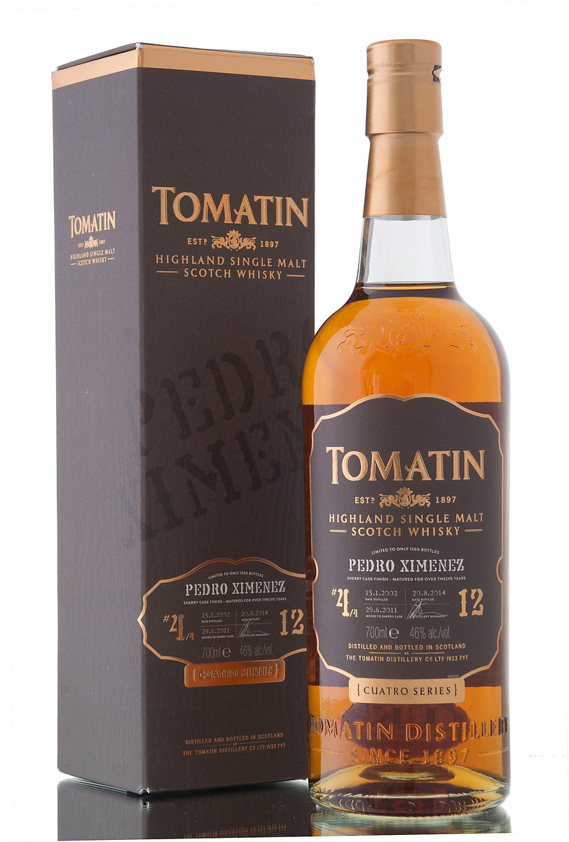 Tomatin 12 Year Old / 2002 / PX Finish / Cuatro Series