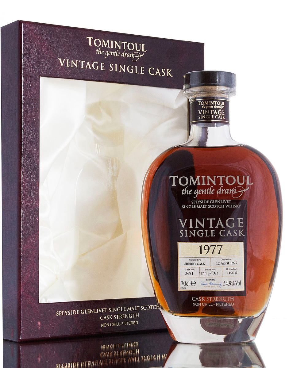 Tomintoul 1977 / Single Cask #3691 / 36 Year Old