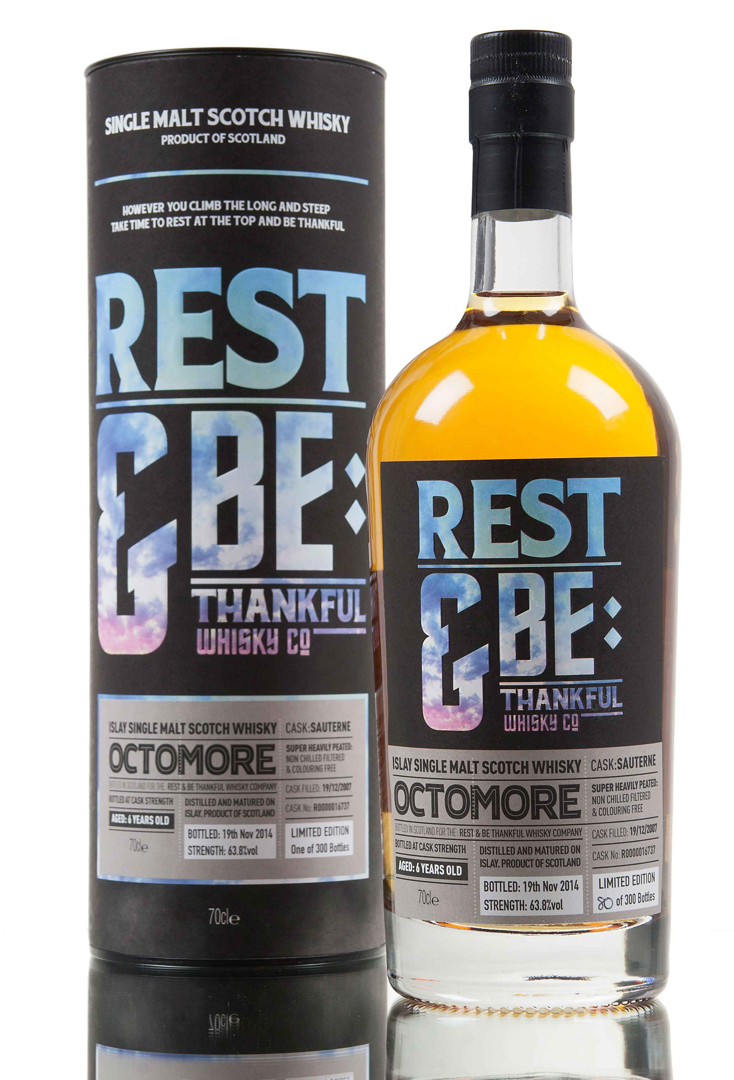 Bruichladdich Octomore 6 Year Old - 2007 / Cask 16737
