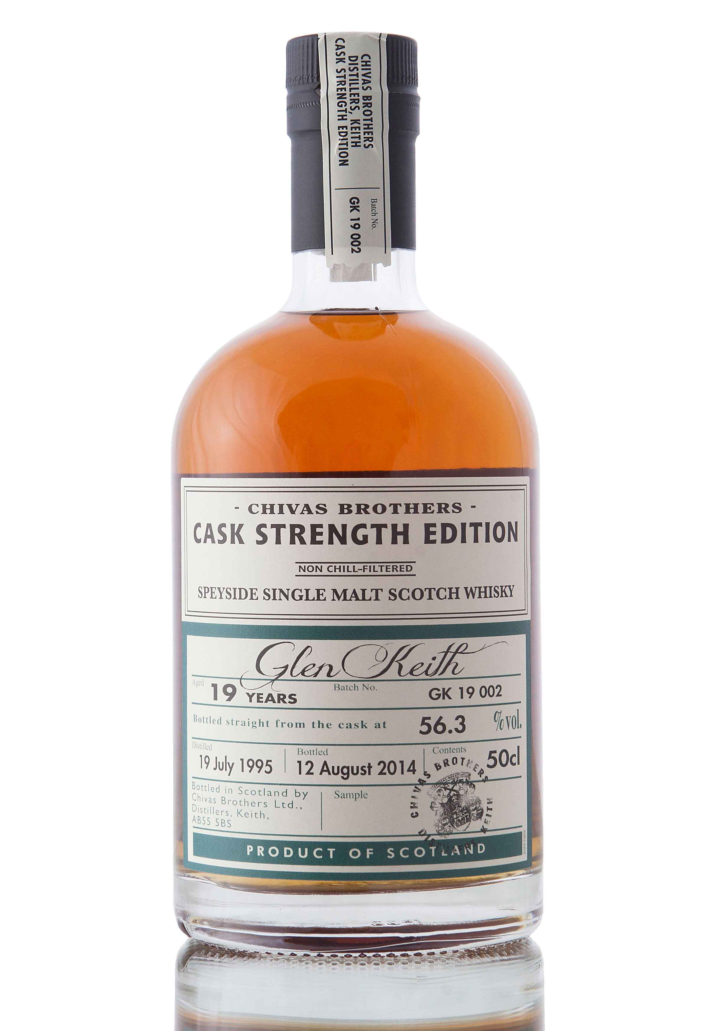 Glen Keith 19 Year Old - 1995 / Cask Strength Edition